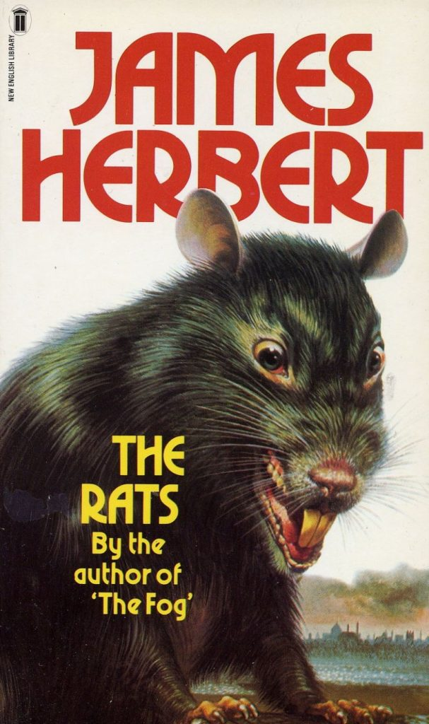 A picture of the original book cover of The Rats