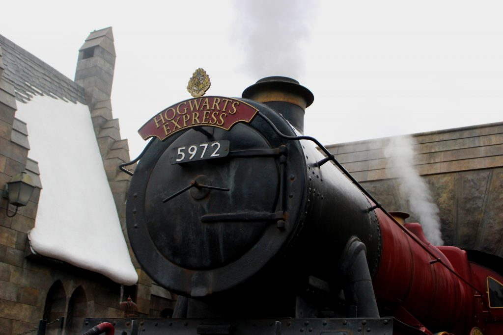 A picture of the Hogwart's Express