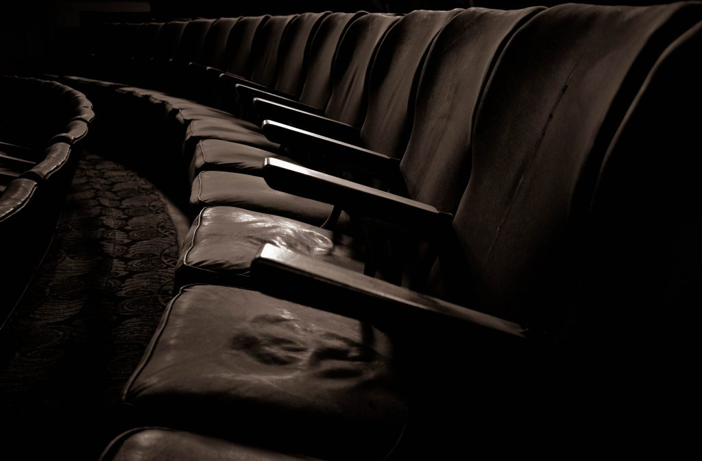 A picture of cinema seats