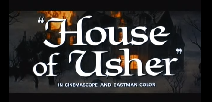 A still from the House Of Usher film