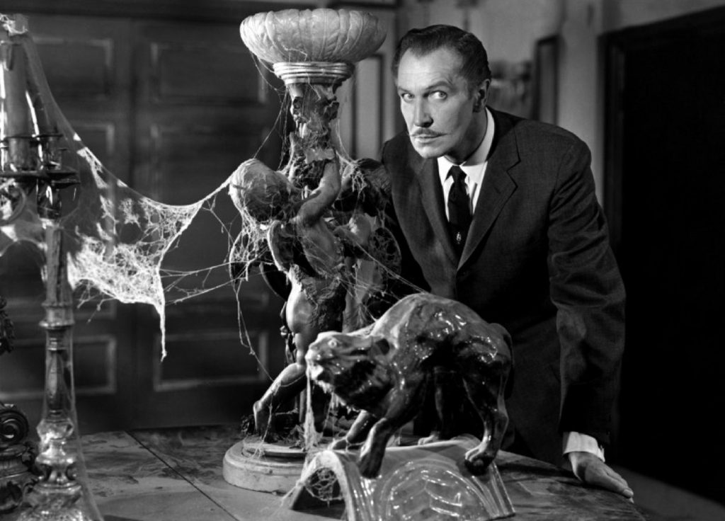 A picture of Vincent Price