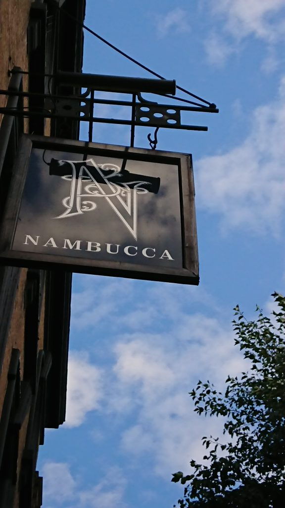 A picture of the sign outside Nambucca
