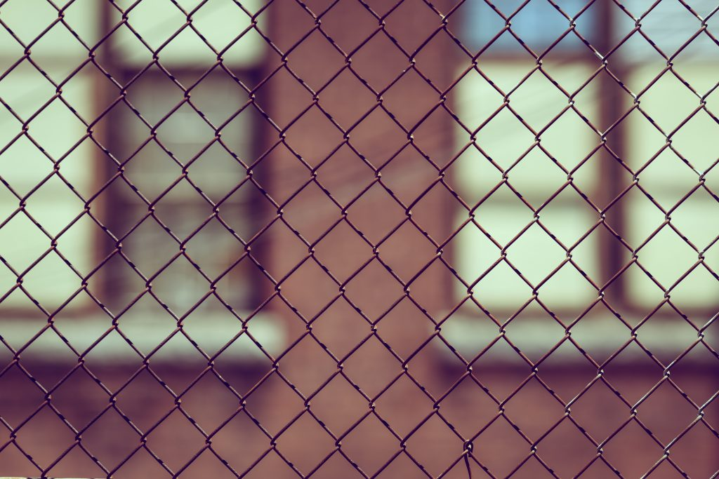A picture of a fence