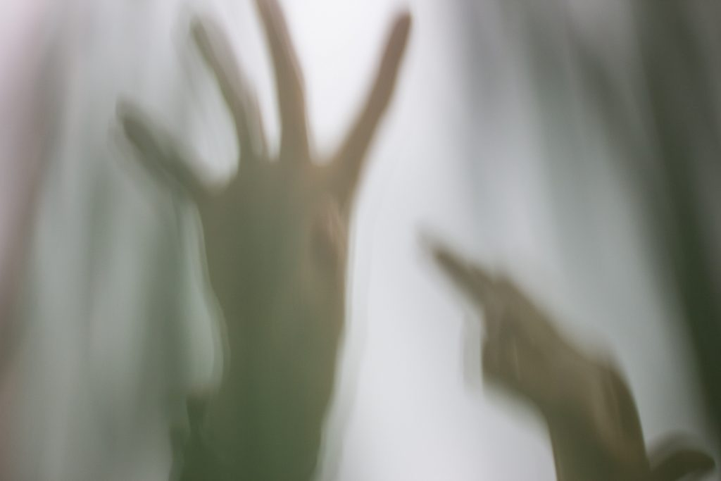 A picture of hands reaching out