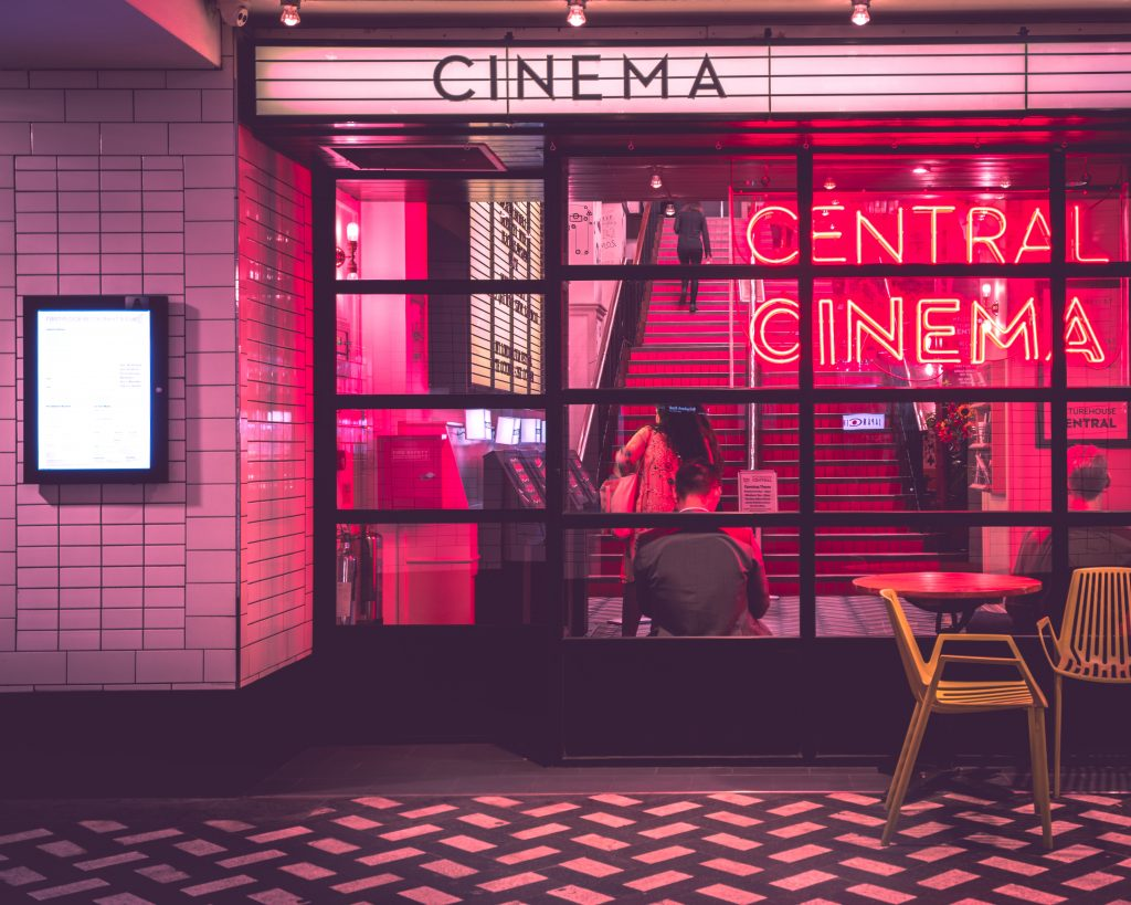 a picture of a cinema rather than a good book